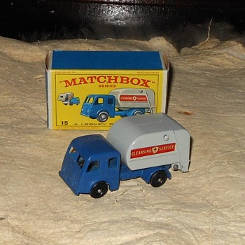 Matchbox Dennis Refuse Truck 1964-1967 - Model Cars