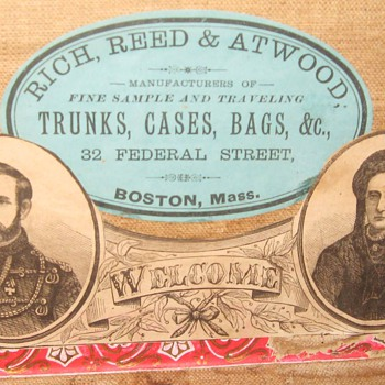 Another Favorite - Trunk traveled from Massachusetts to Spain - Furniture