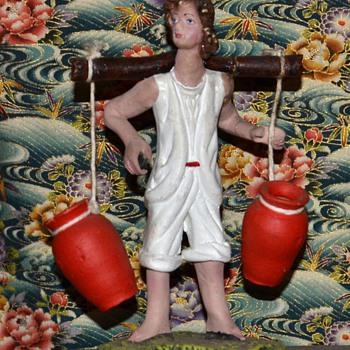Mexican Pottery Figurine - Vintage Tlaquepaque - Pottery