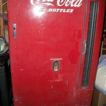 Our Early Coke Vending Machine-  - Coca-Cola