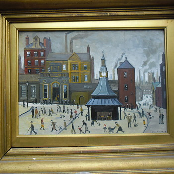 Fake Lowry - Fine Art