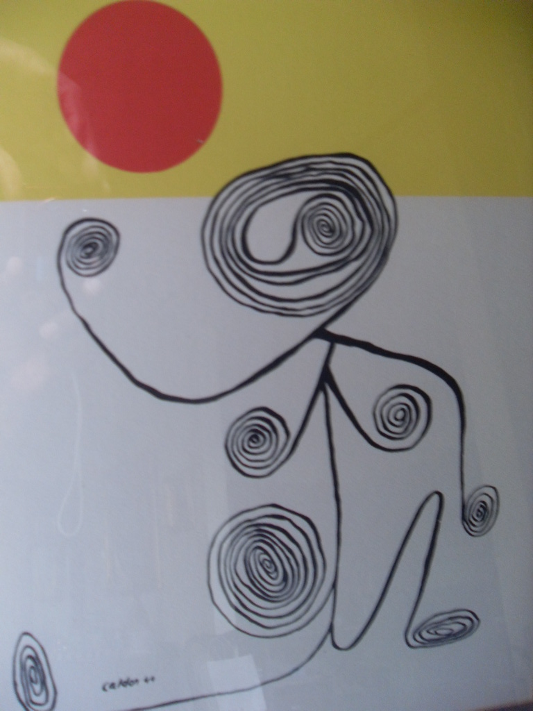 AN ORIGINAL LITHOGRAPH SIGNED CALDER 44   Collectors Weekly