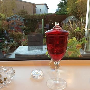 Red compote ? - Glassware