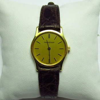 Any help with age and value of my JLC watch, please?