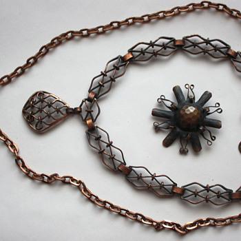 My copper jewelry