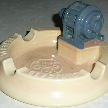 General Electric Generators Ashtray  - Advertising