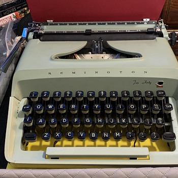 Remington Ten Forty Portable Typewriter - Office