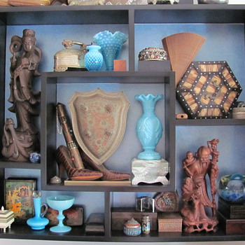 Display of mix collection - Glassware