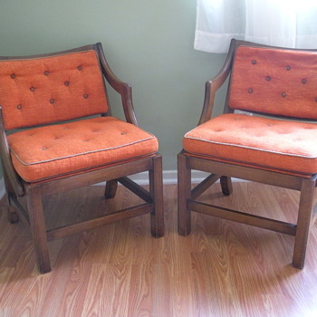 A Mysterious Pair of Chairs