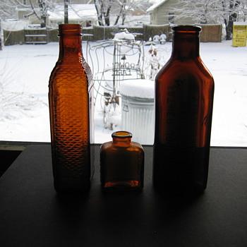 Old Cod Liver Oil Bottle - Bottles
