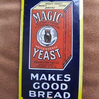 MAGIC YEAST - Signs