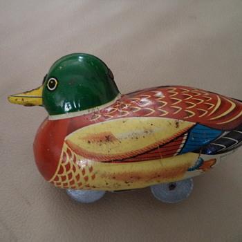 Duck Mallard 1950s Vintage - Toys
