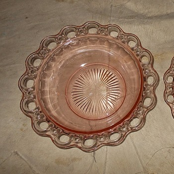 Hocking Glass Depression Glass Old Colony Pattern Bowls 1935-19*38 - Glassware