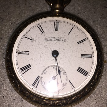 Antique pocket watch by American Waltham watch co.  - Pocket Watches