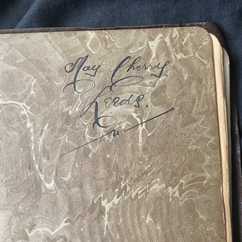 WW1 era autograph book  - Military and Wartime