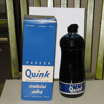 """""""Quink"""" - Bottles"""