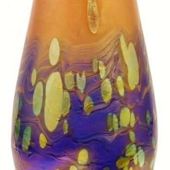 Loetz Neurot Cytisus Vase. - Art Glass