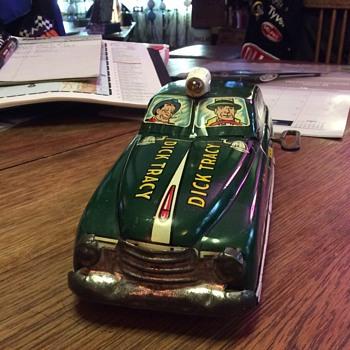 Original 1949 Dick Tracy Squad Car by MARX