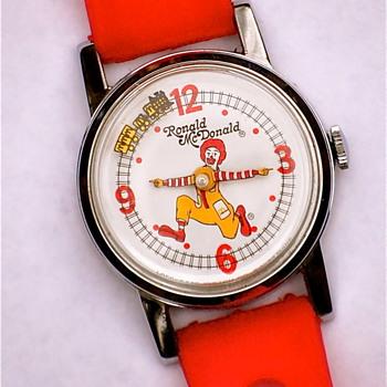 Ronald McDonald  wristwatch - Wristwatches
