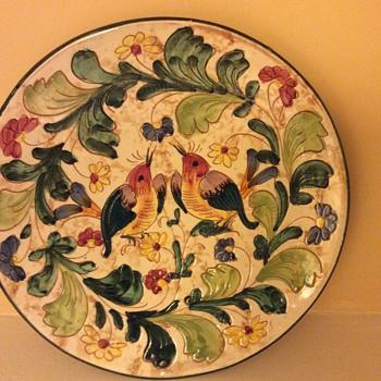 1932 Italian plate - Pottery