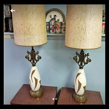 rooster themed lamp - Lamps