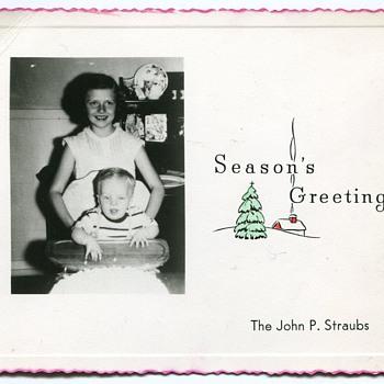 Early Fifties Christmas Photocards......