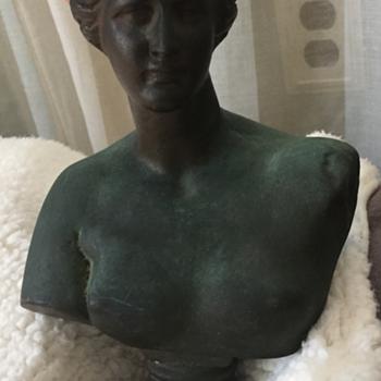 Female Bronze Bust - Fine Art