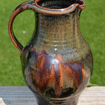 My favorite find this past weekend--yes another pitcher ;) - Pottery