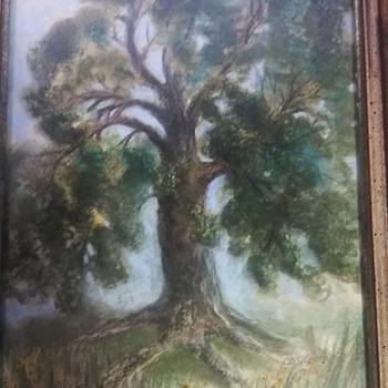 D.S. Lentz Painting Circa 1915? - Fine Art
