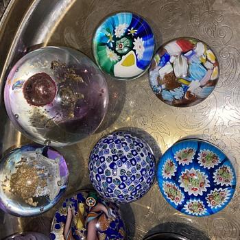 Glass balls  - Art Glass