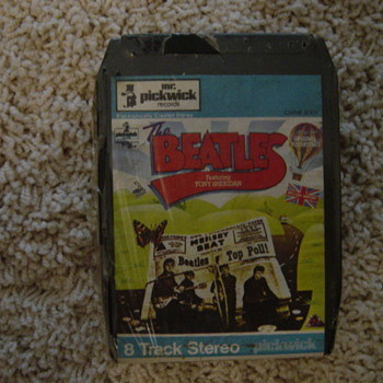 1962 BEATLES 8 TRACK TAPE UNOPENED - Music Memorabilia