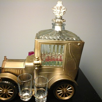 1918 Ford Model T Musical Decanter Set - Bottles