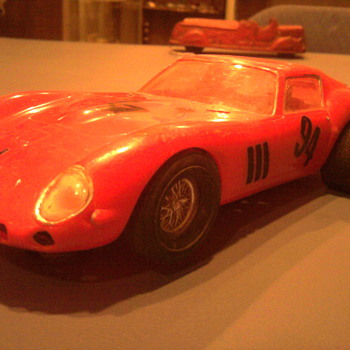 Cool 1/25 scale 60's slot car...  1962 Ferrari 250 GTO... - Model Cars