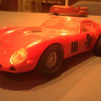 Cool 1/25 scale 60's slot car...  1962 Ferrari 250 GTO... - Model Cars