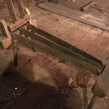 old wooden farm tool - Tools and Hardware