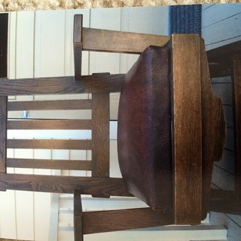 A. W. Schram & Sons company rocking chair - Furniture