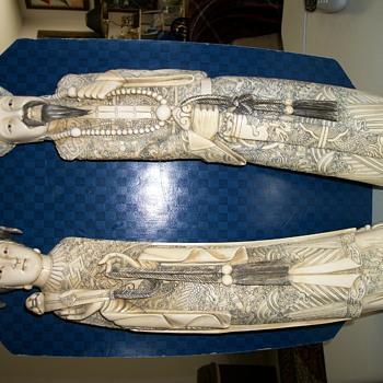 Ivory Figurines