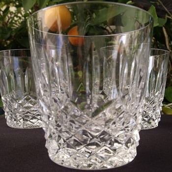 Waterford? Fine Crystal glasses - Glassware