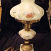 Fenton Student Lamp - Hearts & Flowers