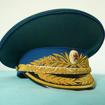 Soviet Parade Visor Cap of a KGB General - Military and Wartime