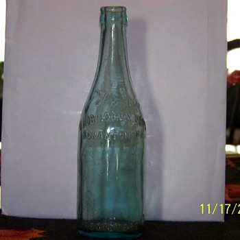 old beer bottle