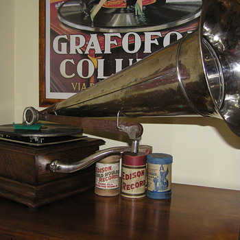 G&T gramophone front mount gramophone C1900 - Records