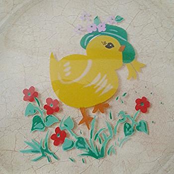 Chick Plate - Glassware