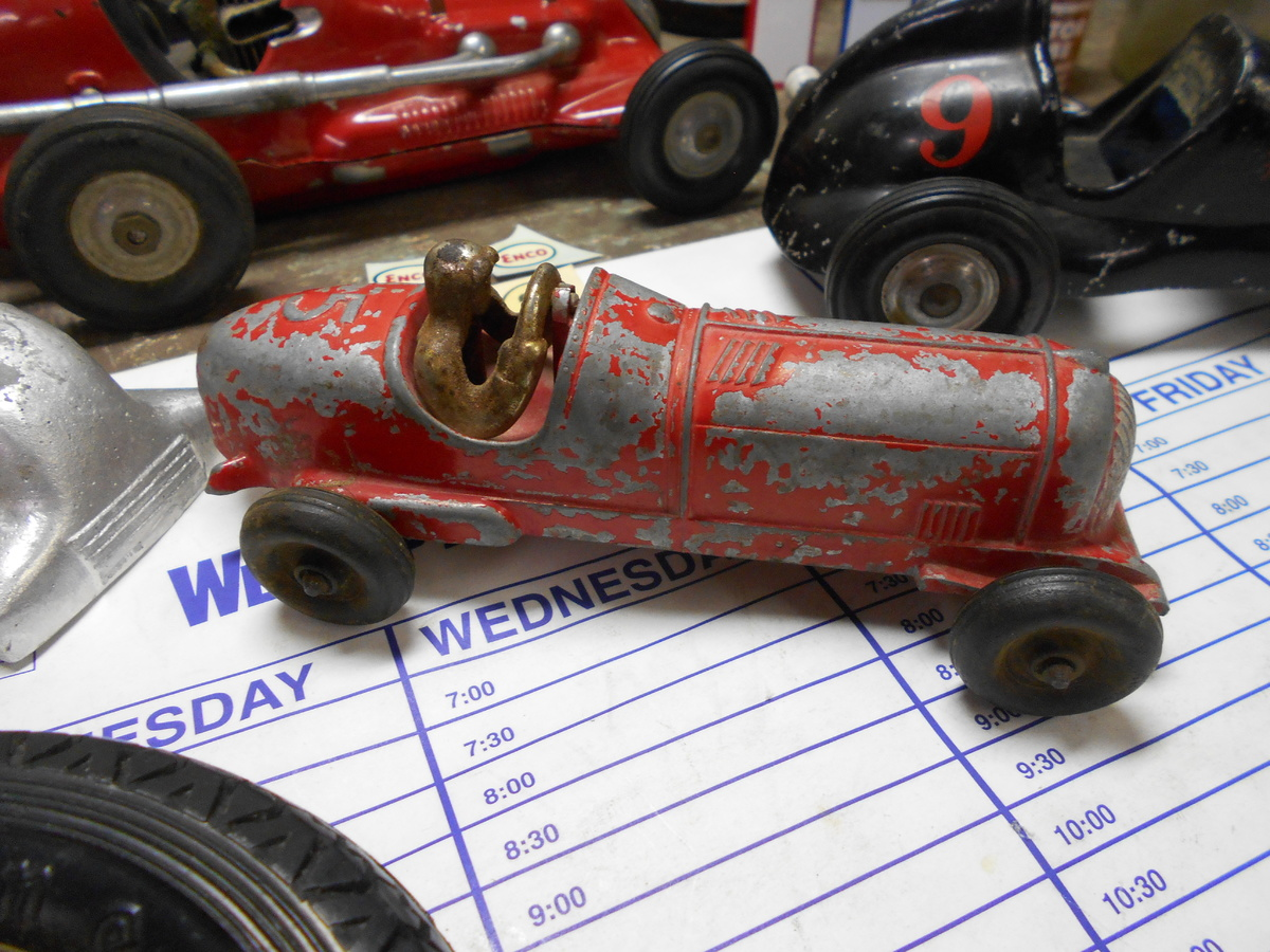 lastest finds....tether cars and old race car! | Collectors Weekly