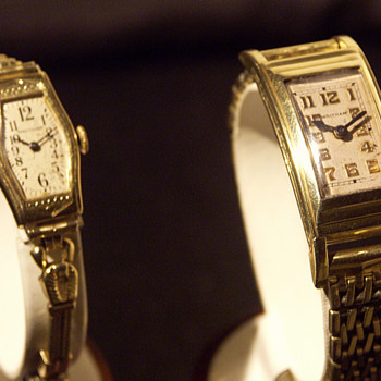 Waltham Wristwatches, early Restorations - Woman & Man's Models - Wristwatches