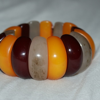 Plastic Stretch Bracelet - Costume Jewelry