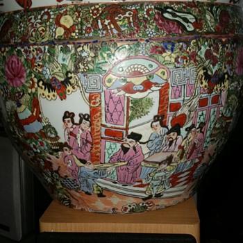 asian large  fish bowle  - Asian