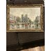 Vintage Oil Painting Notre Dame Signed (A.I.VITI) Andrea De VITI