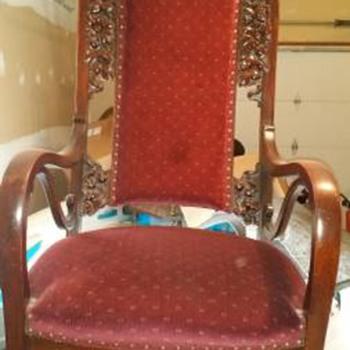 High Back Chair - Furniture