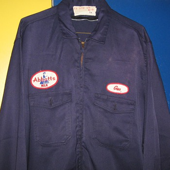 Abbotts , Abbott's Dairy , Bethlehem (Butztown) , Philadelphia , Pa. work uniforms